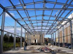 Конструкции быстровозводимых зданий