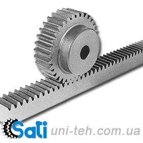 Zubchata of a lath and gear gear wheels (wheels),