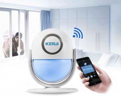 WI-FI сигнализация KERUI WP6 для Дома - управление