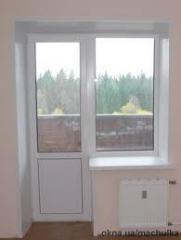 Балконный блок (профиль Steko) гарантия 7 лет.