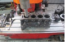 Sleeves of the block of cylinders repair