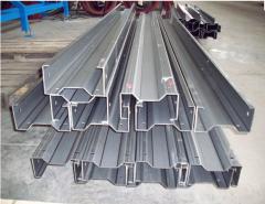 Profiles steel bent in an assortimente:gnuty