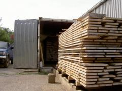Drying chambers for wood