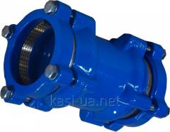 Муфта соединительная для ПЕ/ПВХ труб тип 9123 JAFAR, чугун GGG50, DN 50 - 300