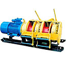 Scraper winches of LS-10, LS-17, LS-30, LS-55 and