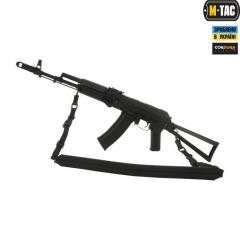M-Tac ремень оружейный двухточечный черный