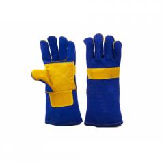 4297 Перчатки сварщика спилковые усиленные