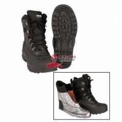 Ботинки утепленные кожа/резина Mil-Tec Thinsulate