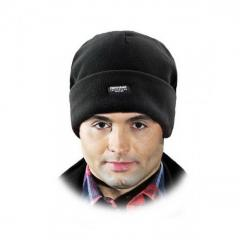 Шапка зимняя флисовая REIS Thinsulate черная