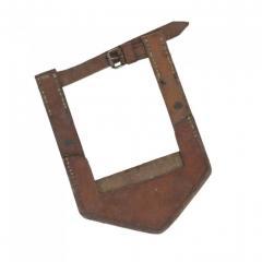 Чехол на лопату кожаный