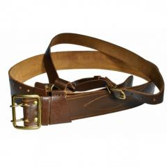 Officer's belt with a harness of the USSR (natural