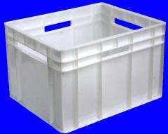Ящики из пластика формованные и литые, опт
