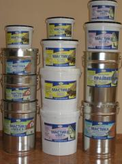 Гидроизоляция от производителя: Праймер битумный;