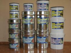 Materials waterproofing bituminous - mastics,