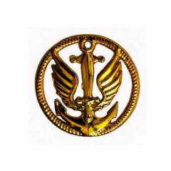 Емблема морської піхоти (парадна, пластик)
