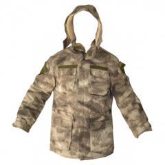 Jacket with sheepskin A-TACS AU