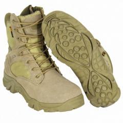 Ботинки Delta на молнии YKK койот