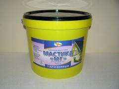 Waterproofing for walls - mastic waterproofing