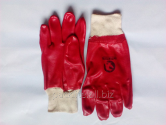 Mittens rubber (Economic rubber gloves)