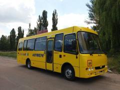 Автобус Богдан D093S4 Школьный с пневмогидро подьемником для инвалидных колясок