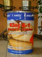 Glue for a parquet of ANED (Aned)