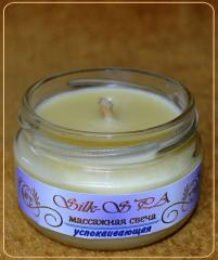"Massage candle of ""Silk-SPA"""
