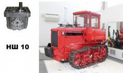 Насос шестеренчатый НШ 10Д-4 для тракторов