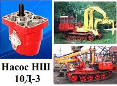 Насос шестерневий ВЗТА НШ 10Д-3 для тракторов