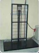 Гидравлическая одно-поршневая подъемная платформа