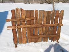 Деревянный забор под старину.