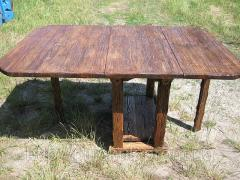 Мебель под старину .Стол книжка.