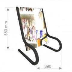 Напольное передвижное зеркало для обуви