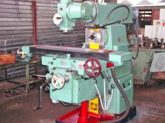 The machine horizontally milling 6T82G-1 (after a cap. repair)