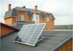 Батареи солнечные для производства електроенергии