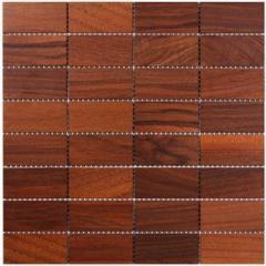 Дерев'яна мозаїка Горіх Natural 8 × 4