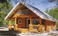 Охотничьи домики деревянные, дома из