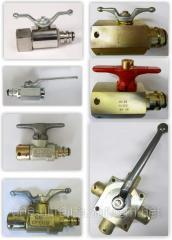 Hydrotool: Cranes, valves, manometers