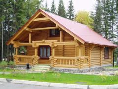 Дома ручной рубки, рубленые дома