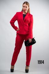 Женский классический костюм жакет брюки от бренда