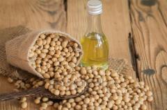 Sojový olej rafinovaný balení PET láhev 1 l, 1,8 l, 3 l, 5 l