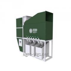 Kornreinigungsmaschine ISM-15, Kornreinigung