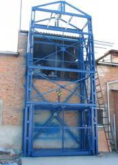 Mine hoists warehousing, freight elevator for