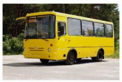 Buses city A074, producer of ChAZ, Ukraine