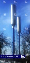 Водонапірна вежа 50 м3, водонапірна вежа, башти Рожновського