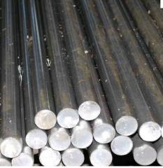 Rounds. Rolling is steel hot-rolled round, a