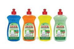 Средство для мытья посуды SILVIA 500 мл, 500 мл