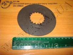 Диск ведений приводу гідромуфти 236-1308632 (внутр. шліц) ЯМЗ, арт. 236-1308632