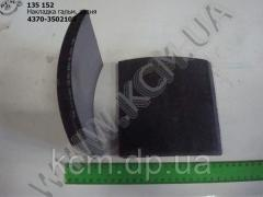 Накладка гальмівна задн. 4370-3502105, арт.