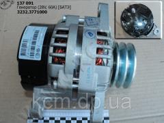 Генератор 3232.3771000 (28V,  60A) БАТЭ, ...