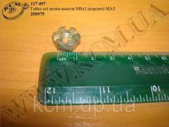 Гайка вісі вилки важеля 250975 (М8*1, ...